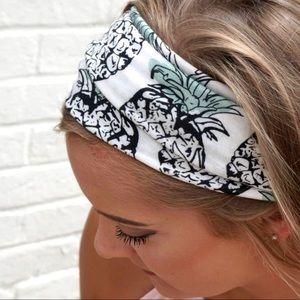 Pineapple Fabric Handband